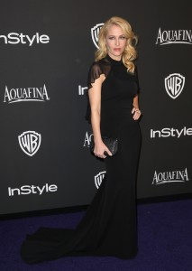 Gillian Anderson, InStyle Golden Globes Party, L.A 11/01/15