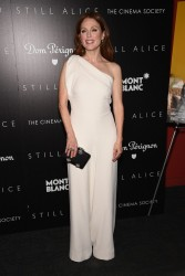 "Julianne Moore - ""Still Alice"" Screening in NYC 1/13/15"