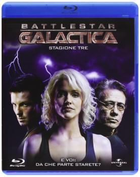 Battlestar Galactica - Stagione 3 (2007) [5-Blu-Ray] Full Blu-Ray 220Gb VC-1 ITA DTS 2.0 ENG GER DTS-HD MA 5.1