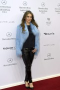 Elizabeth Hurley attends the Marc Cain show at the Mercedes-Benz Fashion Week January 20-2015 x10