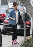 Minka Kelly - Out & About in West Hollywood 1/20/15