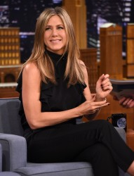 Jennifer Aniston - On The Tonight Show in NYC 1/21/15