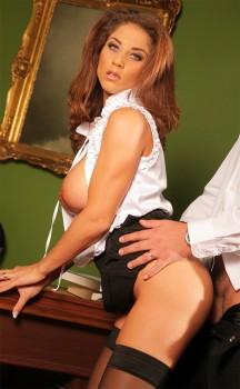 Italian Milf Secretary Roberta Gets Anal Cover