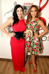 Myleene Klass and Lucy Kay at Classic FM Radio Studios in London 9/16/14
