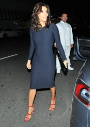 Eva Longoria - Out for dinner at Mr Chow in Beverly Hills 1/29/15