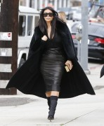 Kim Kardashian - Visiting a sporting goods store in LA 1/30/15