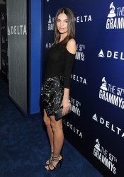 Emily Ratajkowski - Delta Air Lines' GRAMMY Kick-Off Party in West Hollywood 2/5/15