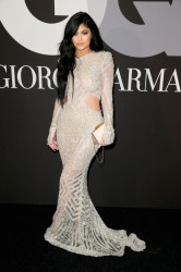 Kylie Jenner - GQ and Giorgio Armani Grammy Afterparty in Hollywood 2/8/15