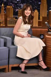 Dakota Johnson - On The Tonight Show in NYC 2/10/15