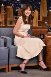 Dakota Johnson - On The Tonight Show in NYC 2/10/15