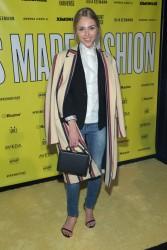 AnnaSophia Robb - VFILES MADE FASHION F/W 15 Fashion Show in NYC 2/11/15