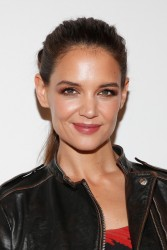 Katie Holmes - Desigual Fall 2015 Fashion Show in NYC 2/12/15