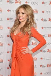 Thalia - 2015 American Heart Association Go Red For Women Red Dress Collection in NYC 2/12/15