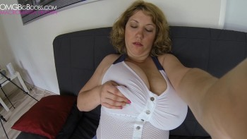 Amateur GoPro busty masturbation video in Movie Clip Post