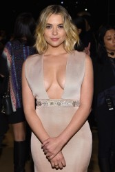 Ashley Benson - Reem Acra fashion show in NY 2/16/15