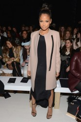 Christina Milian - Michael Costello Fall 2015 Fashion Show in NYC 2/17/15