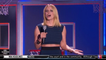 CARRIE KEAGAN - BOOBs - NBA All-Star Style 2015