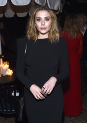 Elizabeth Olsen - Vanity Fair & Barneys New York & OXFAM Benefit Dinner in Hollywood 2/18/15