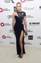 Gigi Hadid - 23rd Annual Elton John AIDS Foundation's Oscar Viewing Party 2/22/15