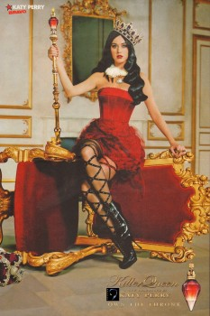 Katy Perry: 'Killer Queen' Fragrance Poster - HQ x 1
