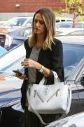 Jessica Alba Arrives to her office in Los Angeles February 23-2015 x11