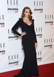Cara Delevingne - 2015 Elle Style Awards in London 2/24/15