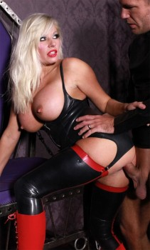 Michelle Thorne in Addiction Cover