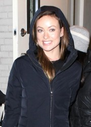 Olivia Wilde leaving the Daily Show studio in NYC on February 26, 2015