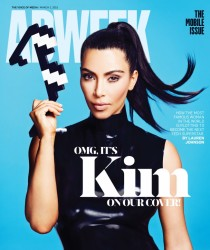 Kim Kardashian - AdWeek Magazine March 2015