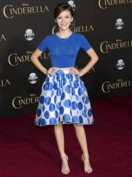 G Hannelius - Premeire Of Disney's Cinderella 3/01/15