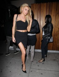 Charlotte McKinney - Leaving The Nice Guy in LA 3/6/15
