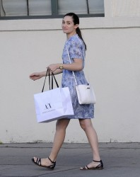 Emmy Rossum - Shopping in West Hollywood 3/13/15