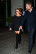 Jessica Simpson - Out for dinner in NYC 3/13/15