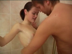 Sister shower sex