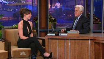 Evangeline Lilly - Jay Leno 10.03.2011 720p or Better