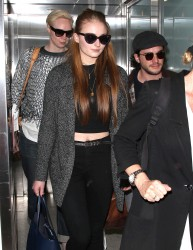 Sophie Turner - LAX Airport on 03/24/15
