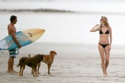 Gisele Buendchen | Bikini Candids on the Beach in Costa Rica | March 25 | 106 pics
