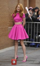 Bella Thorne - Arriving At The View in New York 3/26/15