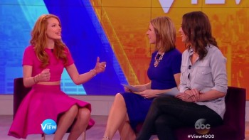 BELLA THORNE - The View 03.26.15