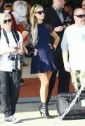 Paris Hilton - Leaving her hotel in Miami 3/26/15