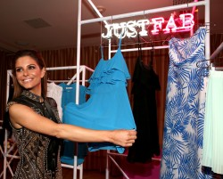 Maria Menounos - Attends the JustFab Launch of Ready-To-Wear 4/01/15