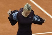 Maria Sharapova French Tennis Open in Roland-Garros stadium, Paris - May 2010 x9