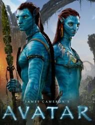 Аватар / Avatar (Сэм Уортингтон, Зои Салдана, Сигурни Уивер, 2009) 088b21519828544